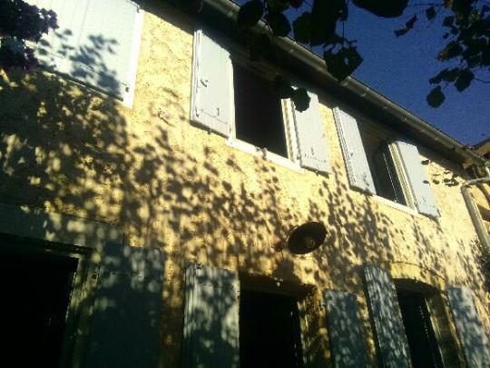 Kaovia - volets aspect bois couleur contretypée