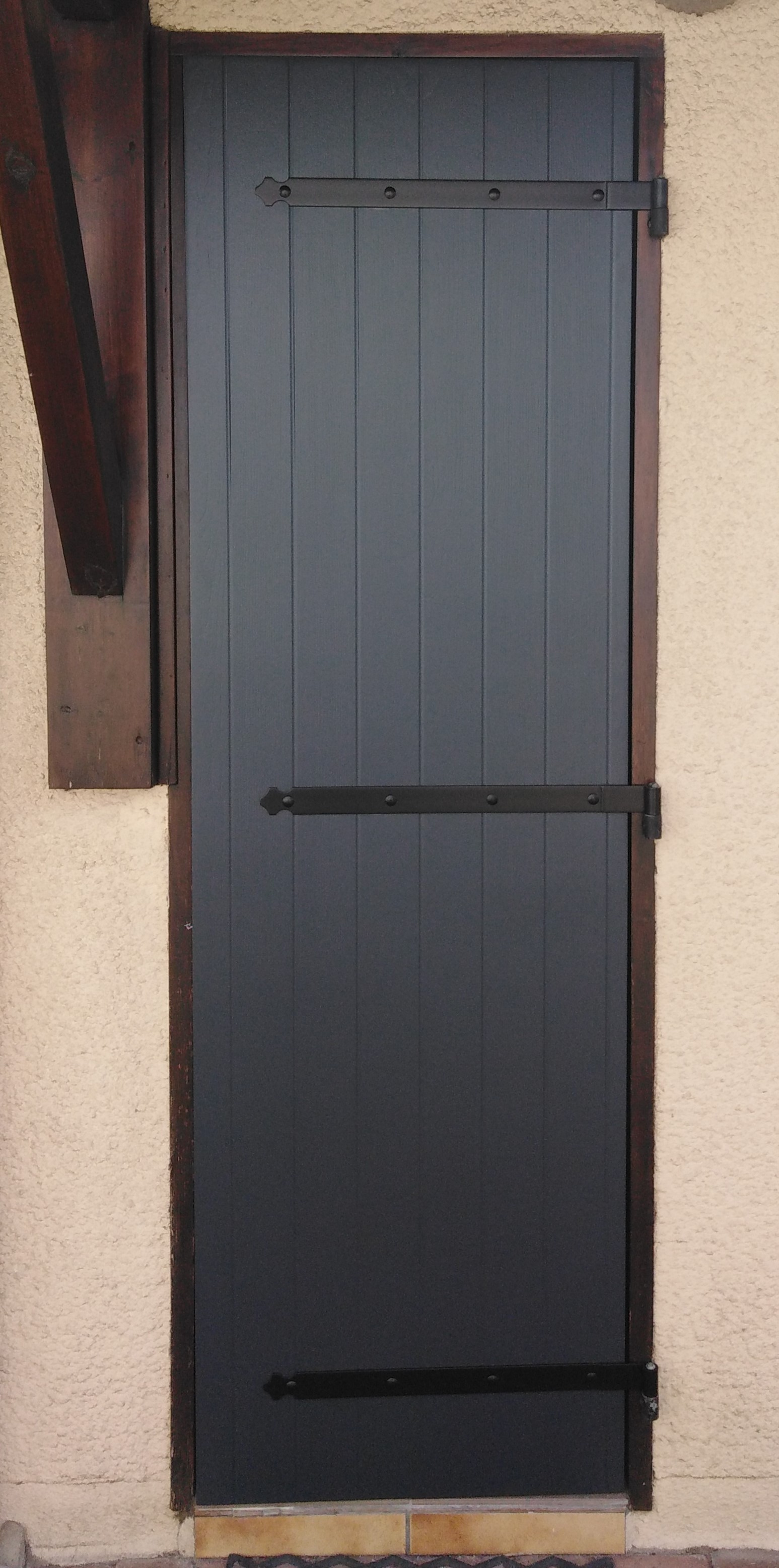 Kaovia - volets aspect bois