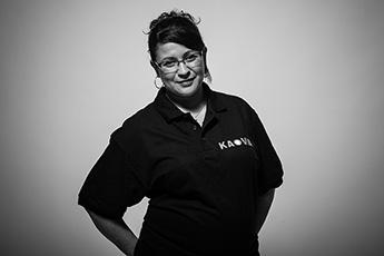 Nadia, secrétaire standardiste Kaovia